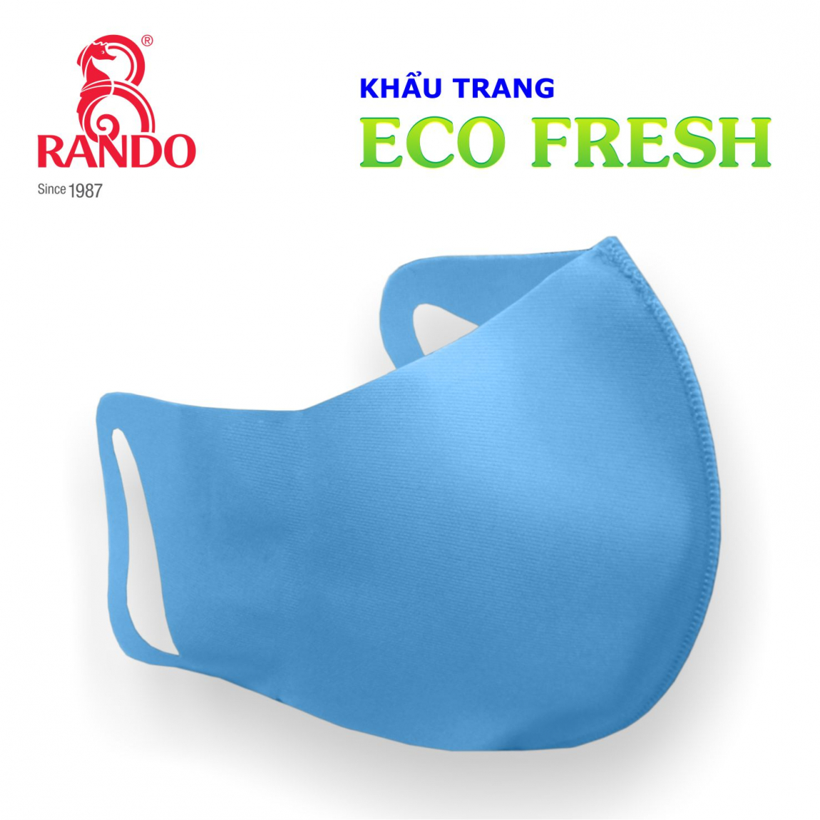 Khẩu trang vải kháng khuẩn ECO FRESH