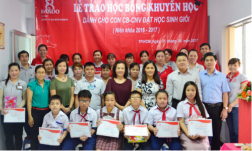 Lễ Trao Học Bổng Khuyến Học – Niên Khóa 2016-2017
