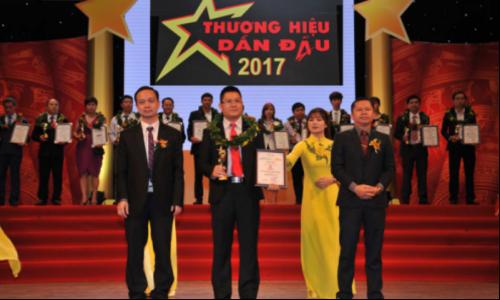 Giải Thưởng Thương hiệu dẫn đầu – Leading Brands 2017