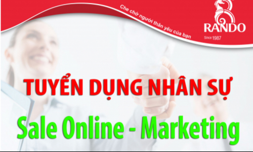 Nhân Viên Sale – Marketing online